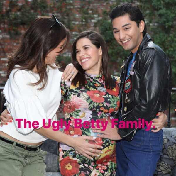 America Ferrera Celebrates Baby Shower With Ugly Betty Cast Members