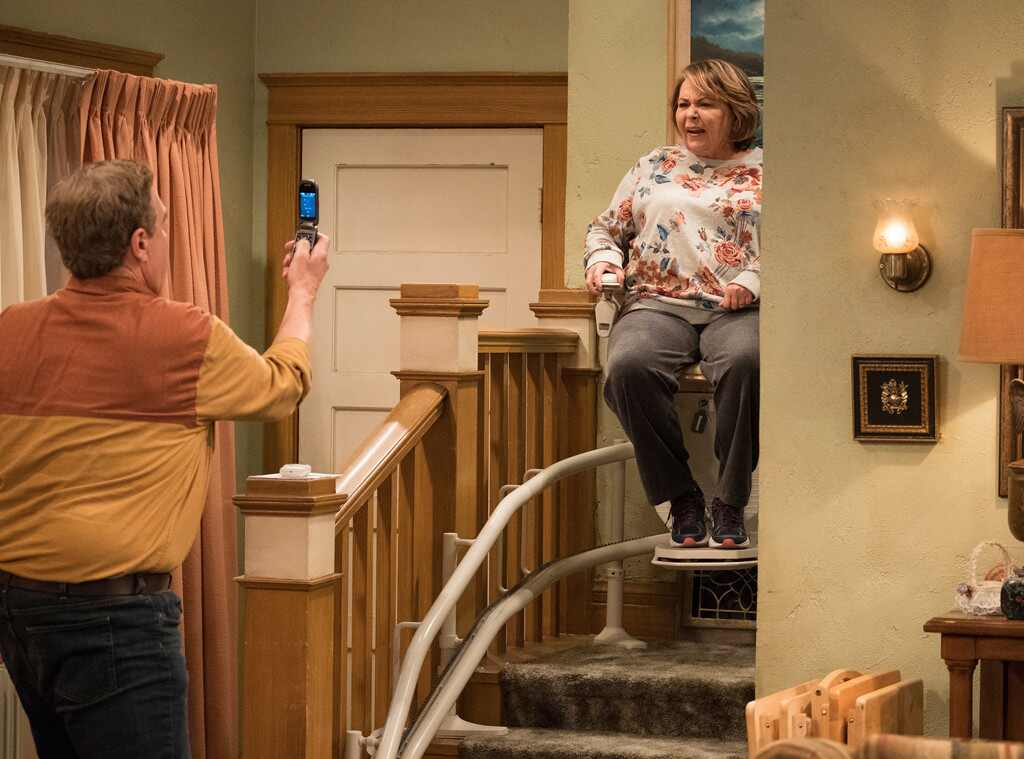 This New Roseanne Trailer Has Johnny Galecki, Stair Lifts and Of Course, That Laugh