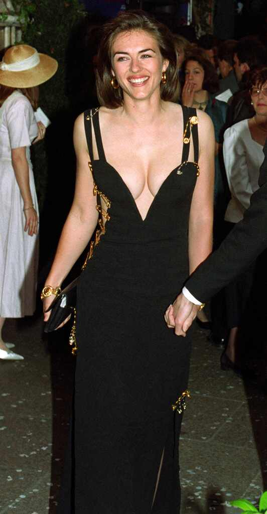 Would Elizabeth Hurley Ever Wear Her Iconic Versace Safety Pin Dress Again?