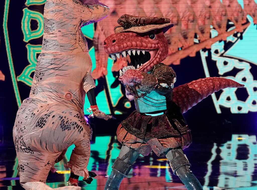 The Masked Singer Unmasks the T-Rex