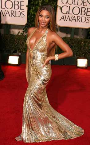 Long Dress on Beyonce  Appearing In Drag To The Globes Is Not Advisable