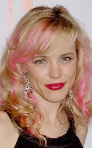 hairstyles with pink highlights