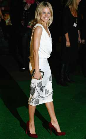 sienna miller red carpet