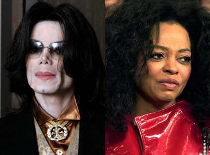 Michael Jackson, Diana Ross WireImage.com, Theo Wargo/WireImage.com