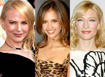 Nicole Kidman, Jessica Alba, Cate Blanchett Lisa O'Connor/ZUMAPress.com,