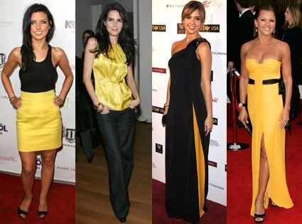 Audrina Patridge, Angie Harmon, Jessica Alba and Vanessa Williams
