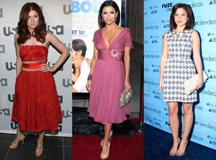 Lately, stars like Debra Messing, Eva Longoria Parker and Sophia Bush have ...