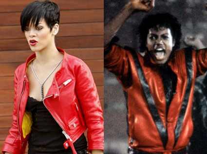 Rihanna, Michael Jackson