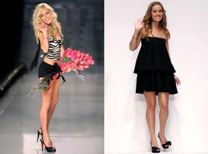 Lauren Conrad, Heidi Montag debuted her very own clothing line,
