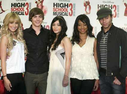 High School Musical 3, Ashley Tisdale, Zac Efron, Vanessa Hudgens, Monique Coleman, Corbin Bleu
