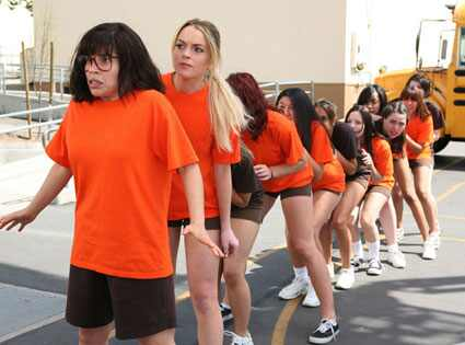 Ugly Betty, Lindsay Lohan, America Ferrera