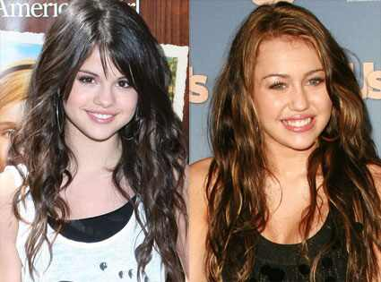 selena gomez vs miley cyrus