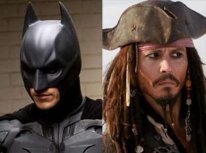 The Dark Knight, Pirates of Caribbean: Dead Man's Chest