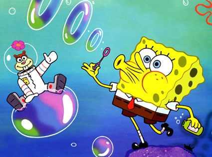OMG! Bob Esponja y Mickey Mouse se unen para darle una paliza a un hombre (+ Video)