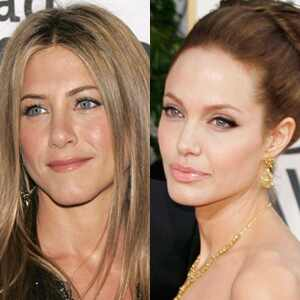 Jennifer Aniston, Angelina Jolie