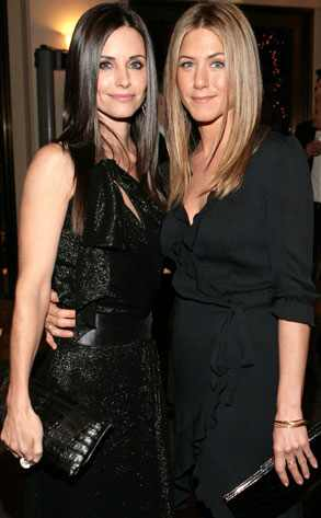 Jennifer Aniston, Courteney Cox Arquette