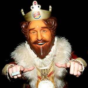 The King, Burger King