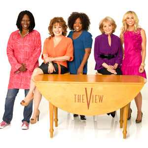 The View Cast: Barbara Walters, Whoopi Goldberg, Sherri Shepherd, Elisabeth Hasselbeck, Joy Behar
