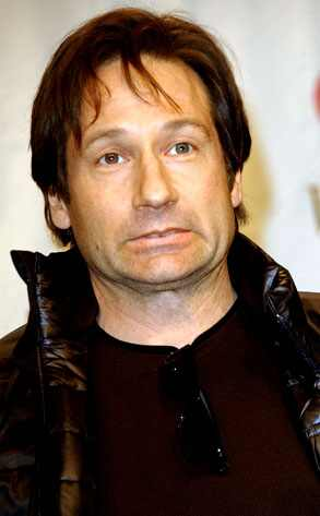 david duchovny young. DAVID DUCHOVNY, DEMI MOORE ARE