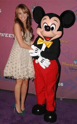 Miley Cyrus Birthday at Walt Disney 3