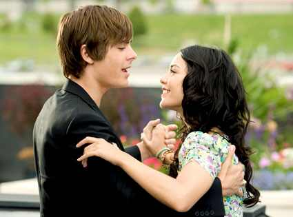 Zac Efron & Vanessa Hudgens - <i>High School Musical</i>