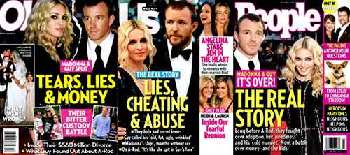 Guy Ritchie, Madonna, OK! Magazine, People Magazine