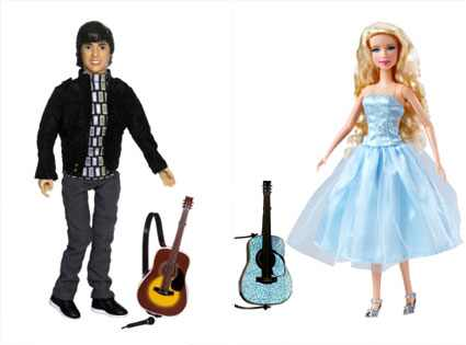 Joe Jonas Camp Rock Doll, Taylor Swift Doll JAKKS Pacific; Disney