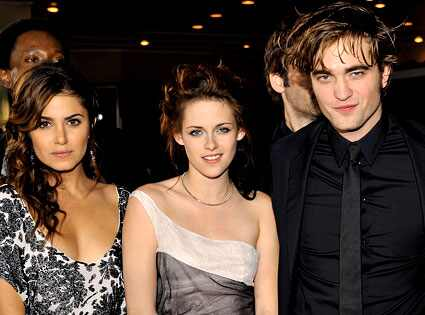 Nikki Reed, Kristen Stewart, Robert Pattinson Lester Cohen/Getty Images