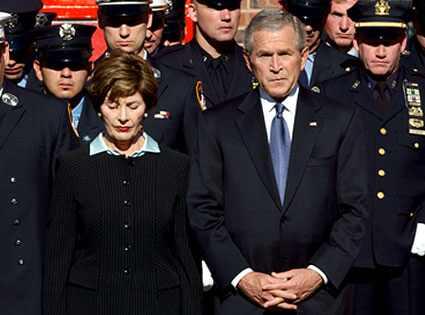 Laura Bush & George W. Bush