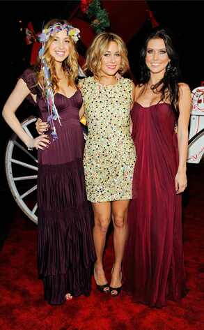 Whitney Port, Lauren Conrad, Audrina Patridge