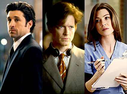 Grey's Anatomy, Patrick Dempsey, Eric Stoltz, Ellen Pompeo