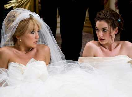 Kate Hudson, Anne Hathaway, Bride Wars