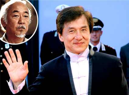 Jackie Chan, Pat Morita