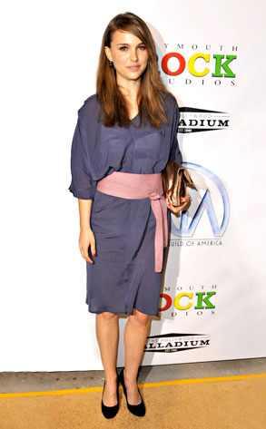 Is Natalie Portman dressing under the influence?