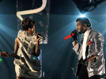 Estelle, Kanye West