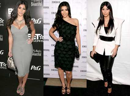 kim kardashian slip