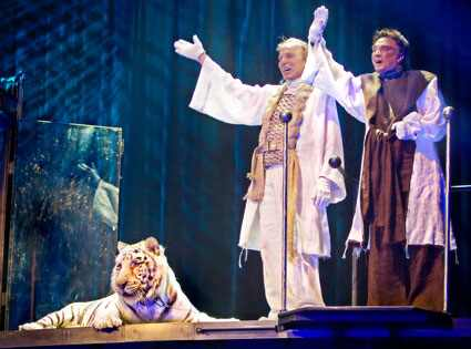 Illusionists Siegfried and Roy