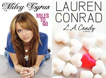 Miley Cyrus, Miles To Go, Lauren Conrad, LA Candy Disney-Hyperion Books