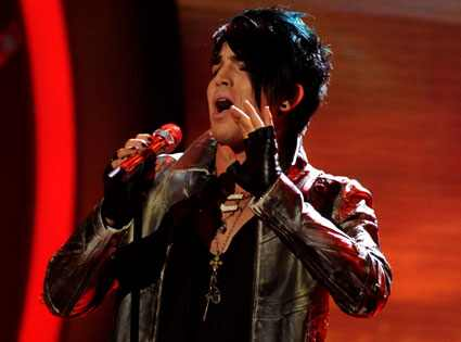 Adam Lambert, American Idol Season 8