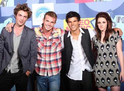 Twilight,  Robert Pattinson, Cam Gigandet, Taylor Lautner,  Kristen Stewart