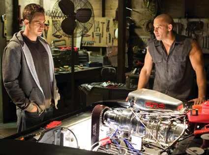 Vin Diesel, Paul Walker, Fast and Furious