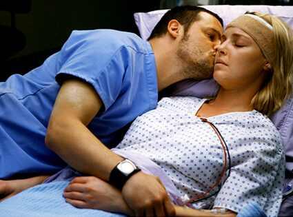 Grey's Anatomy, Justin Chambers, Katherine Heigl