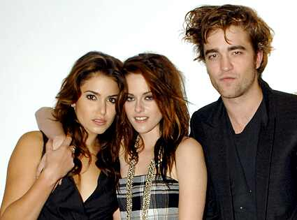 robert pattinson and kristen stewart. costars Robert Pattinson