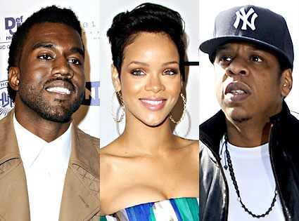 Jay-Z Kanye Rihanna