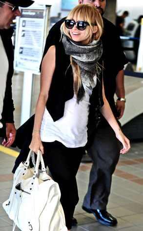 nicole richie scarf