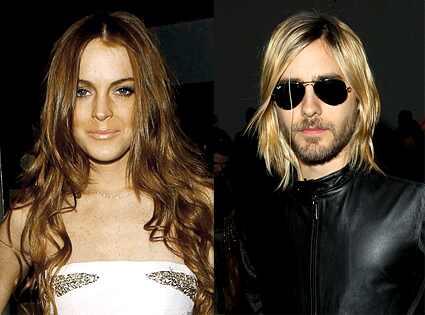 Lindsay Lohan, Jared Leto