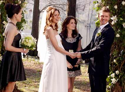 chad michael murray and sophia bush wedding pictures