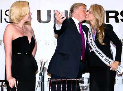 donald trump young pictures. Shanna Moakler, Donald Trump,
