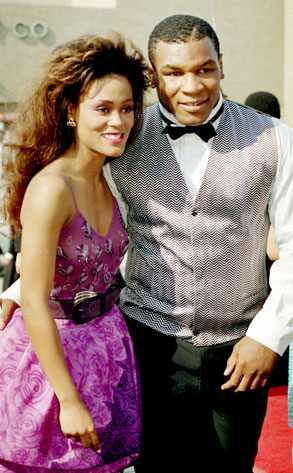 Mike Tyson, Robin Givens AP Photo/Reed Saxon