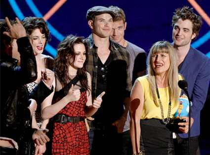 Twilight Cast, MTV Movie Awards
